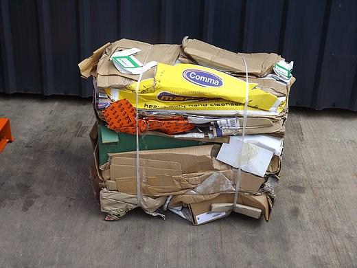 Cardboard Bail