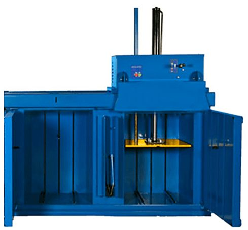 2 compartment baler