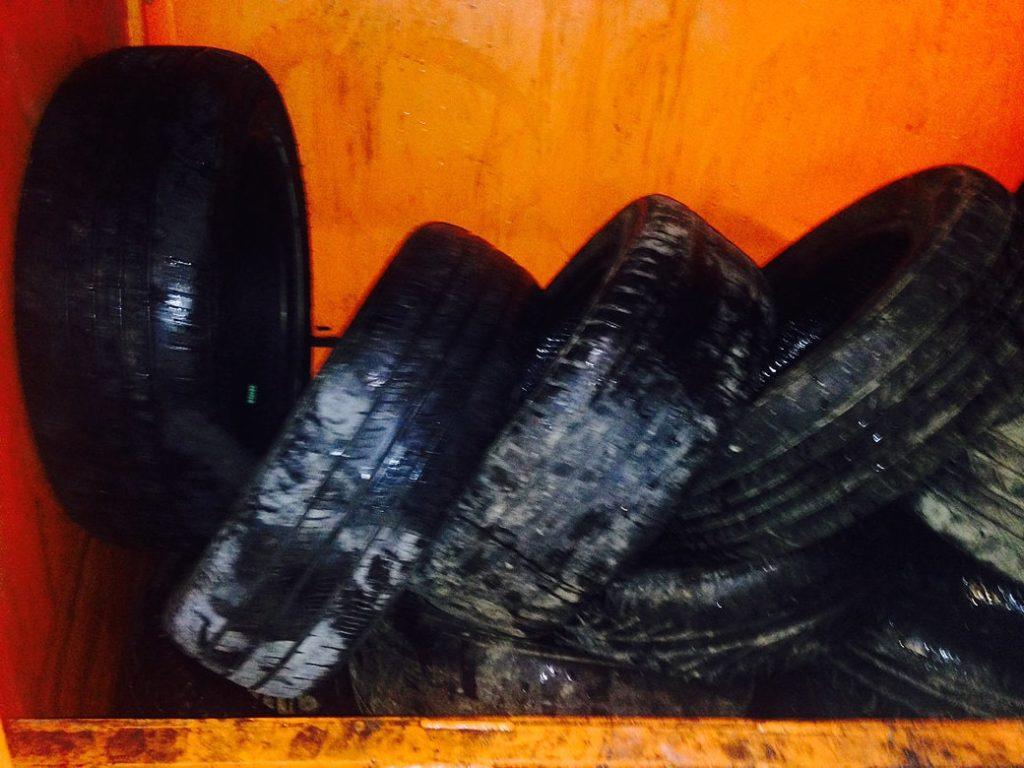 Tyres in Baler