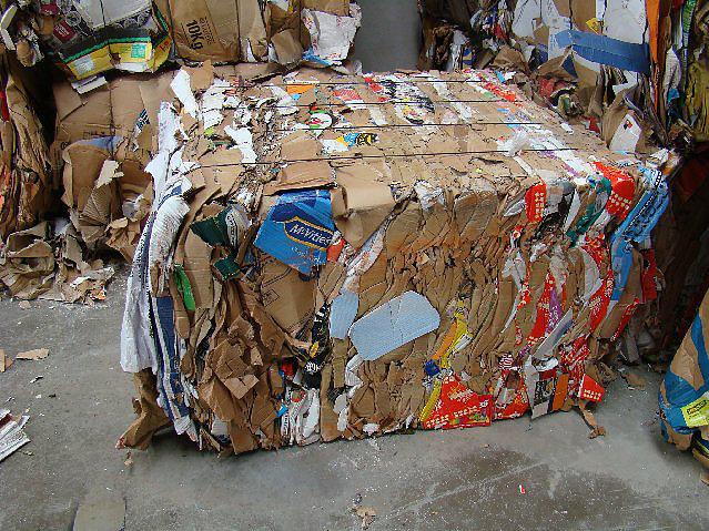 Bale of Cardboard