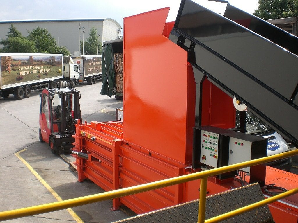 Large Horizontal Baler