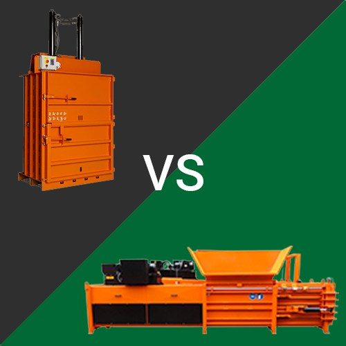 Horizontal and Vertical Baler